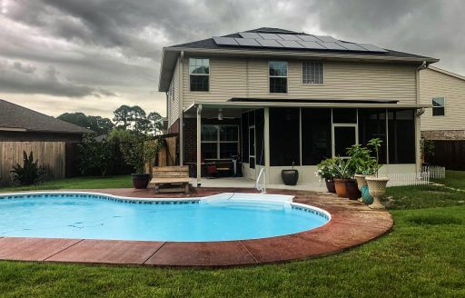 Hughes Home in Navarre Florida