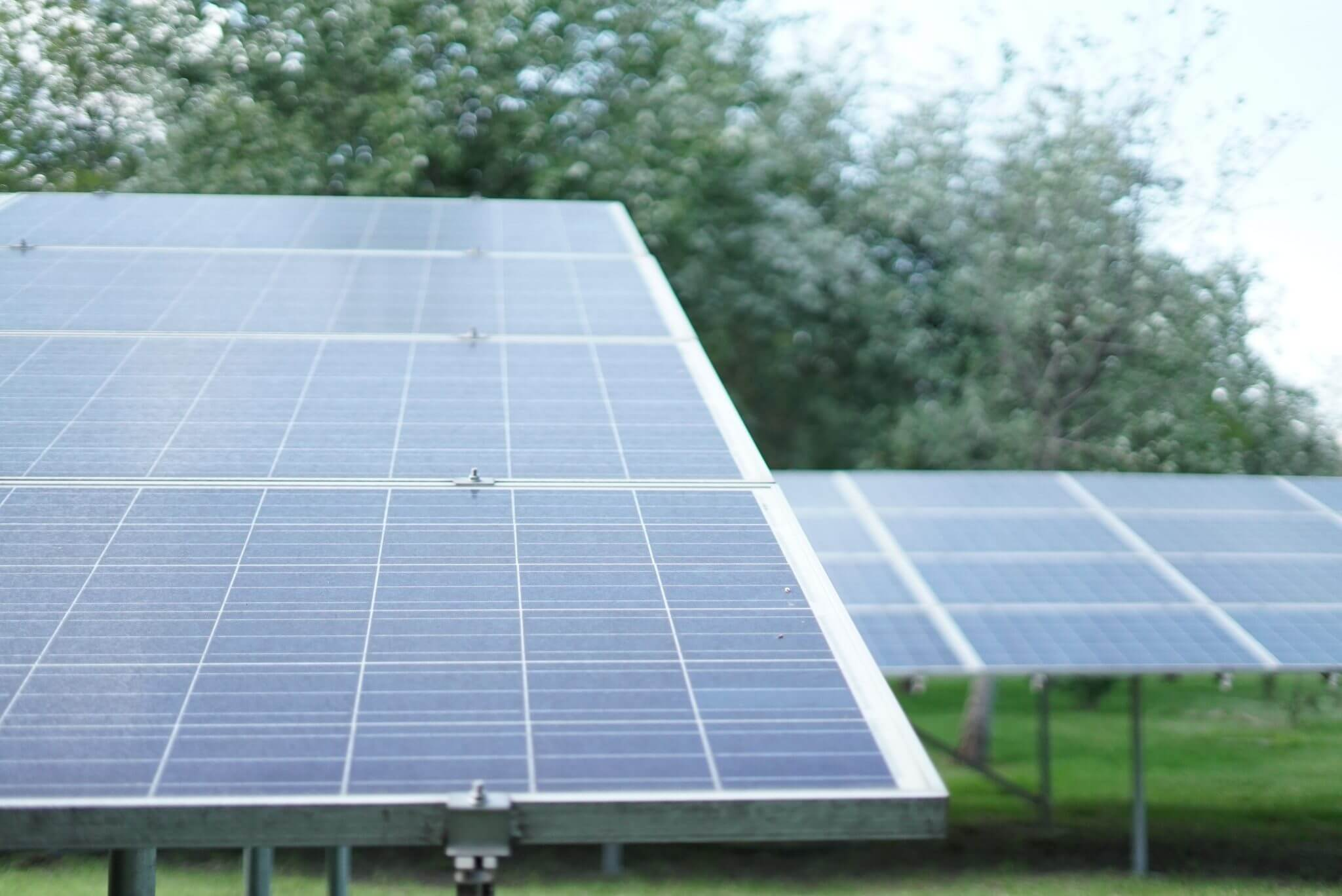 Solar Panels are a key part of your system and help convert light into electricity.